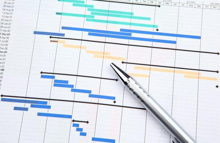 ۳ مرحله برای استفاده از Gantt Chart Maker